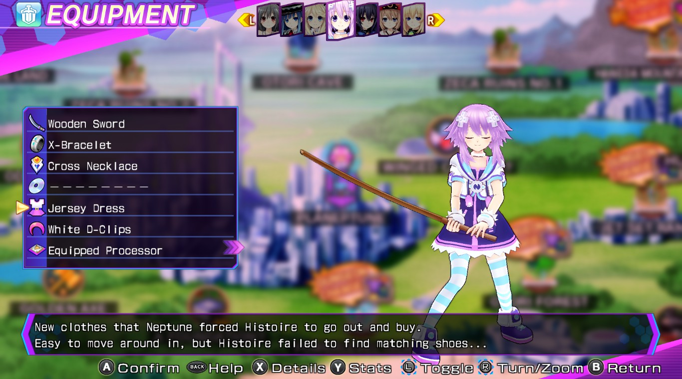 Costume/Re;Birth3/Neptune