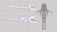 Nepgear's HDD gunblades