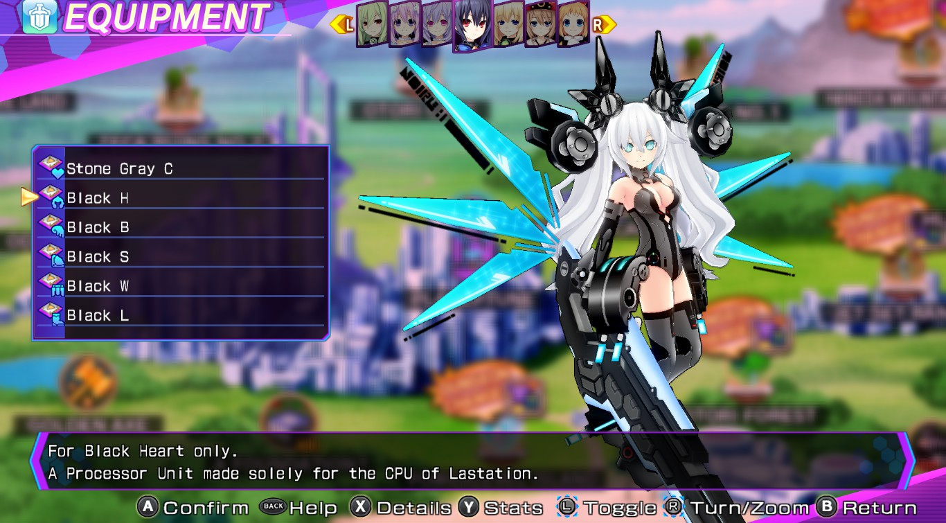Processor Unit/Re;Birth3/Black