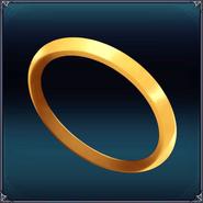Cyberdimension Icon Gold Ring