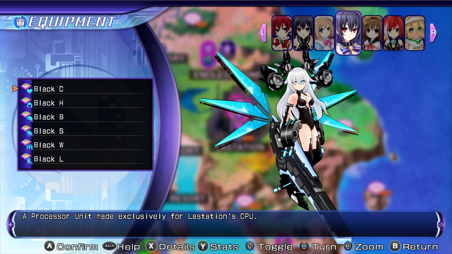 Processor Unit/Re;Birth2/Black