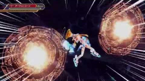PS4_60_FPS_Shin_Jigen_Game_Neptune_Victory_2_Uzume_Orange_Heart_all_Attack_skills_EXE_moves