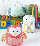 Owl Plushie Sewing Pattern (Jo Carter)