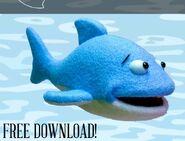 Shark Hand Puppet Sewing Pattern (Adam Kreutinger)
