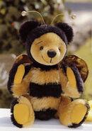 Bee Teddy Bear Sewing Pattern (Mari & Akemi Toto)