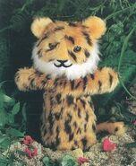 Tiger Hand Puppet Sewing Pattern (Cheryl Owen)