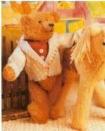 Teddy Bear Sewing Pattern (Anita Louise Crane)