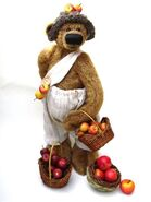 Teddy Bear Sewing Pattern (Margarete Nedballa)