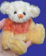 Candy Corn Teddy Bear Pattern (Laura Lynn)