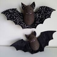 Bat Plushie Sewing Pattern (Jo Carter)