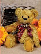 Teddy Bear Sewing Pattern (Georgie Threadgould)