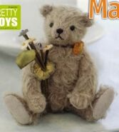 Teddy Bear Sewing Pattern (Junko Fujinami)