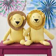 Lion Plushie Sewing Pattern 2 (Jo Carter)