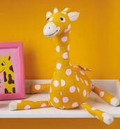Giraffe Plushie Sewing Pattern (Jo Carter)