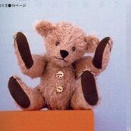 Teddy Bear Sewing Pattern 6 (Ikuyo Kasuya)