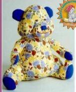 Teddy Bear Sewing Pattern (C