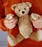 Teddy Bear Sewing Pattern (Ikuyo Kasuya)