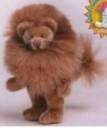 Lion Teddy Bear Sewing Pattern (Lisa Lloyd)