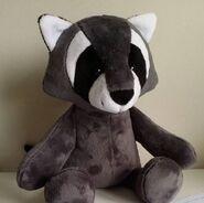 Raccoon Plushie Sewing Pattern (Jo Carter)
