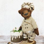 Teddy Bear Sewing Pattern (Irina Potanin)