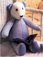 Teddy Bear Sewing Pattern (Patricia Washington)