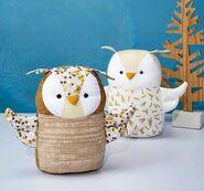 Owl Plushie Sewing Pattern 2 (Jo Carter)