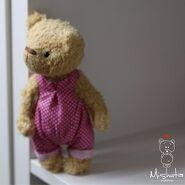 Teddy Bear Sewing Pattern (Mishuta)