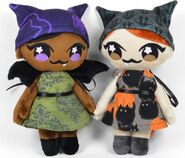 Bat and Cat Girl Doll Sewing Pattern (Choly Knight)