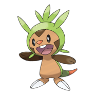 Chespin Plushie Sewing Patterns