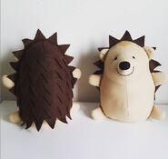 Hedgehog Plushie Sewing Pattern (Jo Carter)