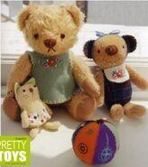 Teddy Bear Sewing Pattern (Harumi Sato)