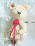 Teddy Bear Sewing Pattern (Irina Lipetskaya)