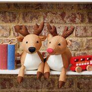 Reindeer Plushie Sewing Pattern (Jo Carter)