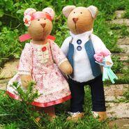Teddy Bear Sewing Pattern (Anya Balyabina)