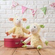 Sheep Plushie Sewing Pattern (Jo Carter)