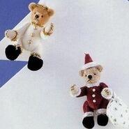 Santa Teddy Bear Sewing Pattern 2 (Ikuyo Kasuya)