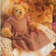 Teddy Bear Sewing Pattern 2 (Anita Louise Crane)