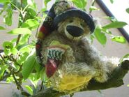 Teddy Bear Sewing Pattern 2 (Margarete Nedballa)