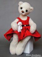 Teddy Bear Sewing Pattern (Julia Bandurka)