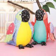 Parrot Plushie Sewing Pattern (Jo Carter)