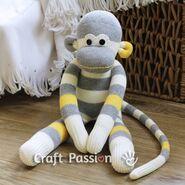 Sock Monkey Sewing Pattern (Craft Passion)