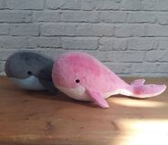 Whale Plushie Sewing Pattern (Jo Carter)