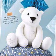 Polar Bear Plushie Sewing Pattern 2 (Jo Carter)
