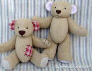 Teddy Bear Sewing Pattern (Lovehobbycraft