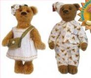 Teddy Bear Sewing Pattern (Angzhepika Rubleva)