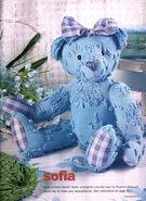 Teddy Bear Sewing Pattern (Sharone Peacock)