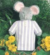 Mouse Hand Puppet Sewing Pattern (Cheryl Owen)
