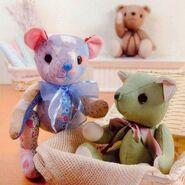 Teddy Bear Sewing Pattern (Chen Haru)