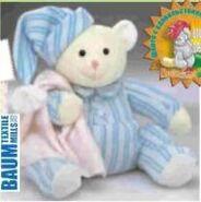 Pajama Teddy Bear Sewing Pattern (Sheri Small)