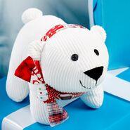 Polar Bear Plushie Sewing Pattern (Jo Carter)